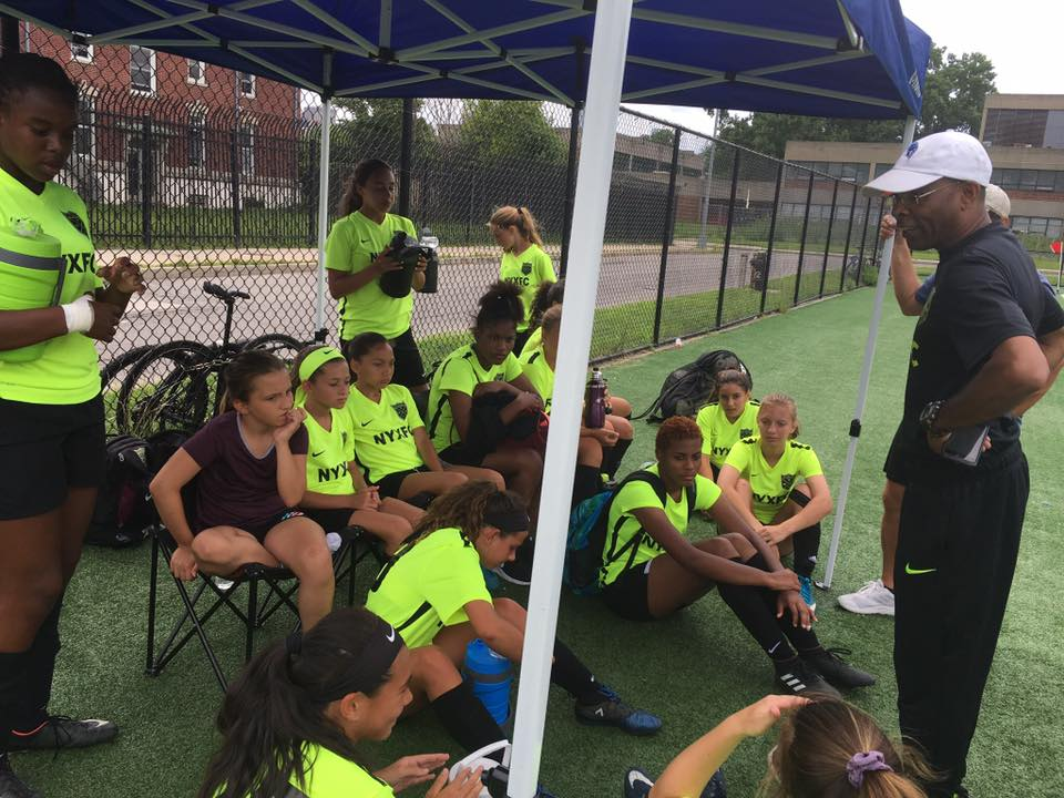 04's at Randalls Island with Coach Chris - July 21, 2018